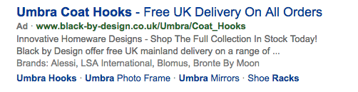 paid Bing result for Umbra Coat Hooks