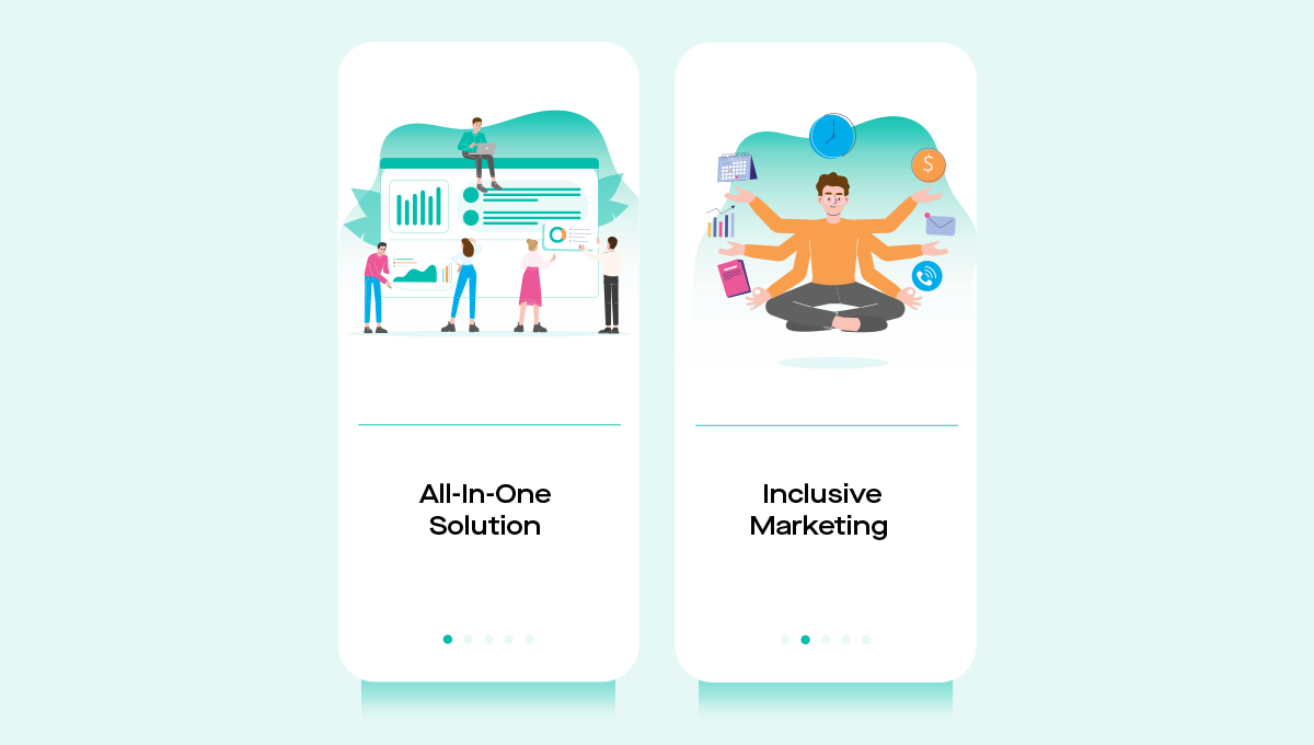 All in one solution & Inclusive Marketing